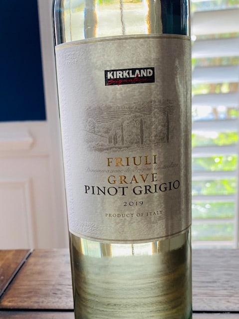 2019 Kirkland Signature Pinot Grigio Friuli