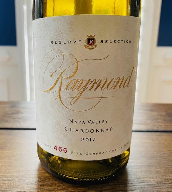 2017 Raymond Chardonnay Reserve Selection