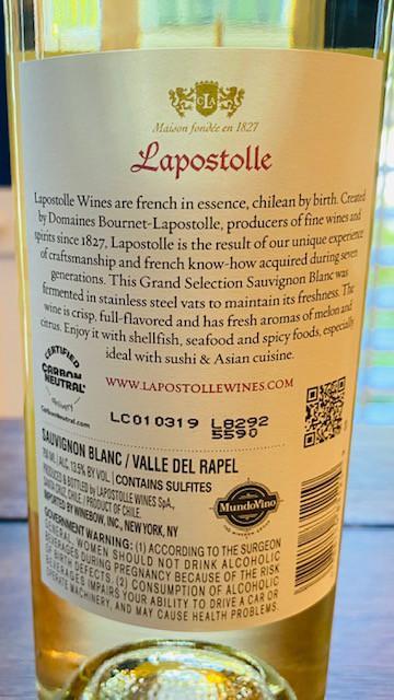 Lapostolle Sauvignon Blanc