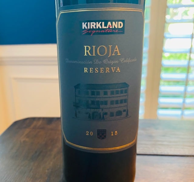 2015 Kirkland Signature Rioja Reserva