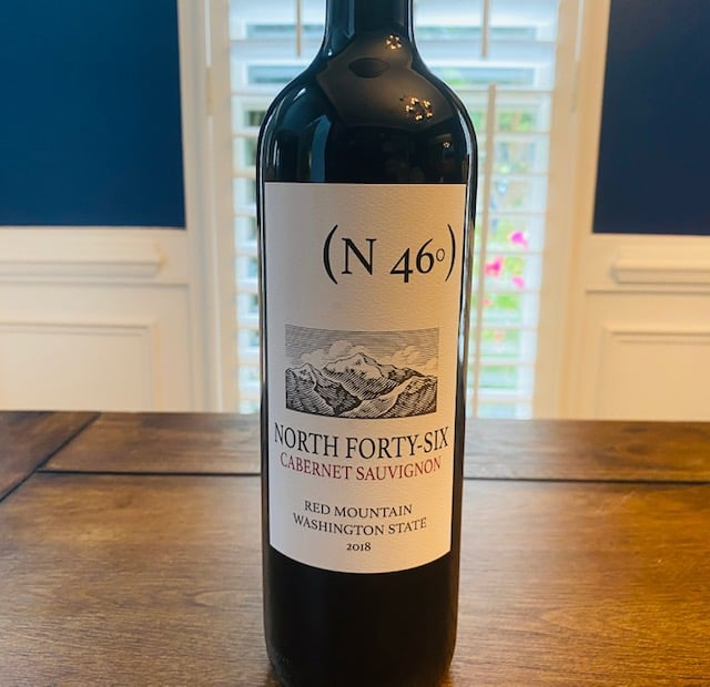 2018 N46 North Forty Six Cabernet Sauvignon Red Mountain