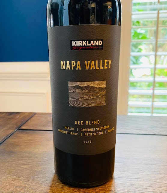 2018 Kirkland Signature Napa Valley Red Blend