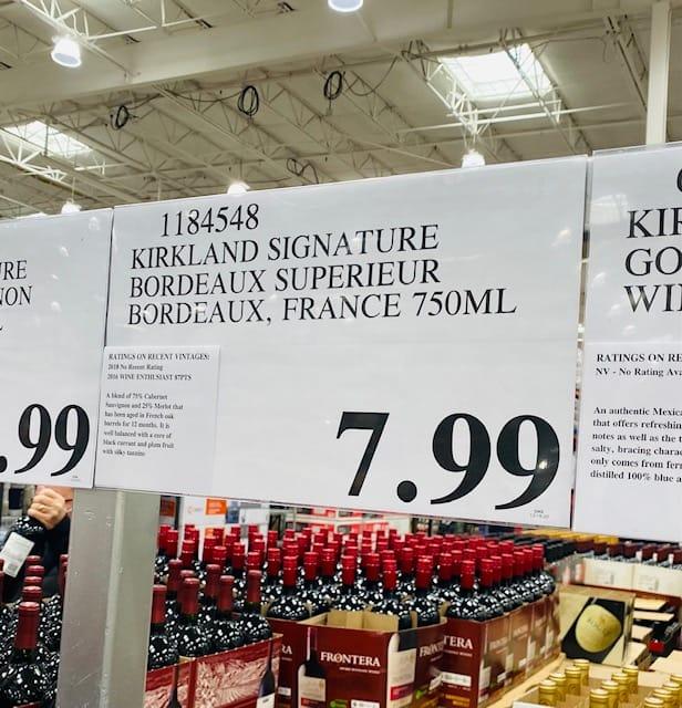 Kirkland Bordeaux Superieur