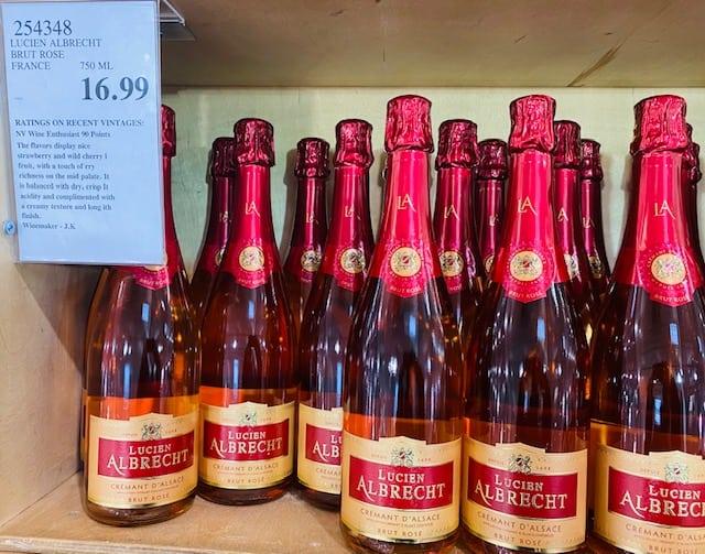 Lucien Albrecht Cremant d'Alsace Brut Rosé