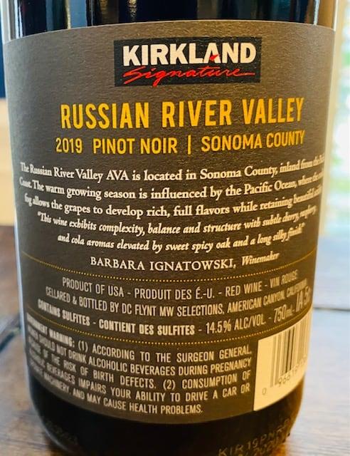 Kirkland Russian River Pinot
