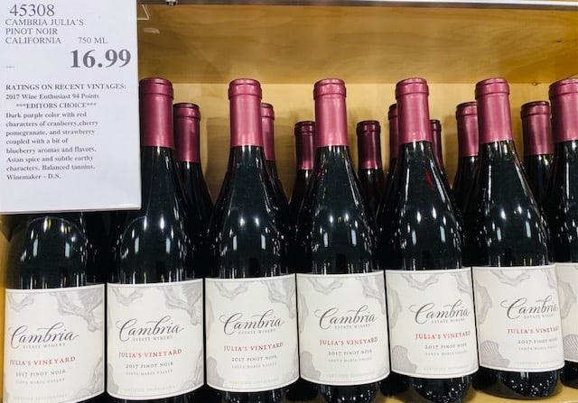 Cambria Julia's Vineyard Pinot