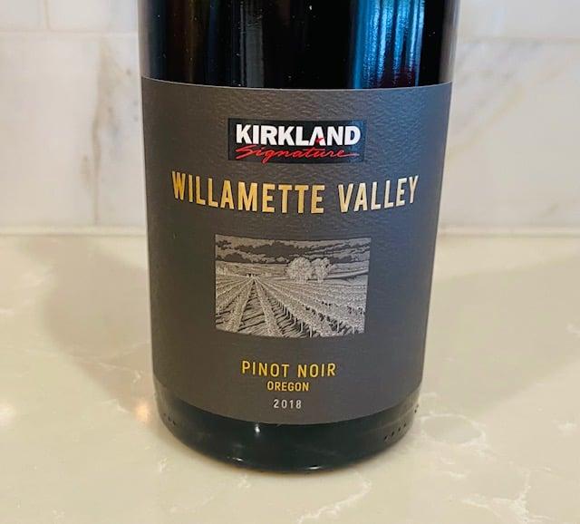 2018 Kirkland Signature Willamette Valley Pinot Noir