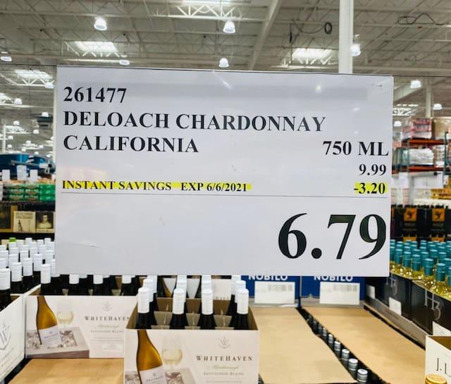 DeLoach Chardonnay