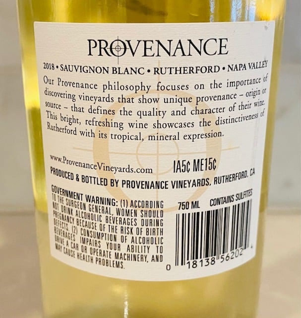 Provenance Sauvignon Blanc