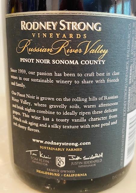 Rodney Strong Russian River Pinot Noir