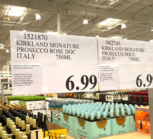 Kirkland Prosecco Rosé