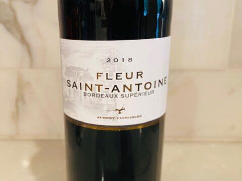 2018 Chateau Saint Antoine Fleur Saint-Antoine Bordeaux Superieur