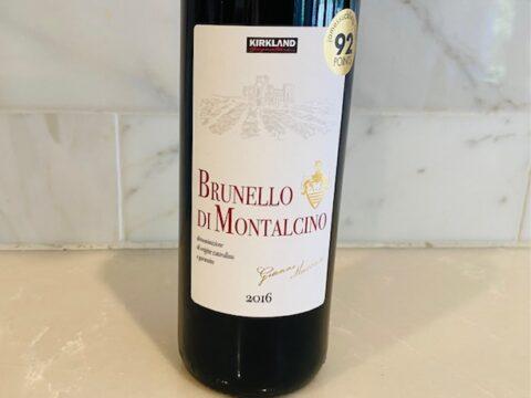 2016 Kirkland Signature Series Brunello di Montalcino
